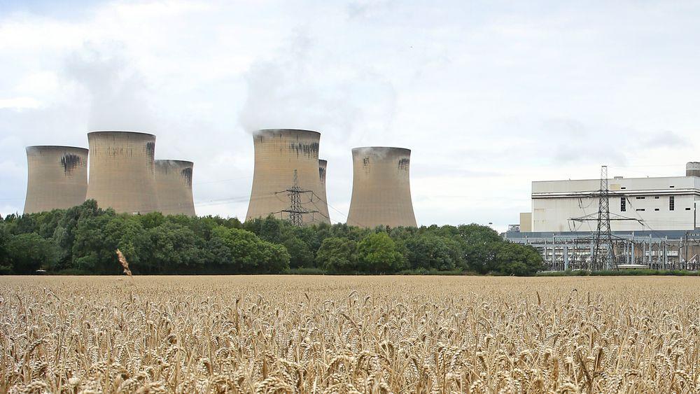 Storbritannia jobber med å fase ut kull, og tirsdag ble det satt ny rekord for lengste kullfrie periode siden 1800-tallet. Drax power station (bildet) er et av de få gjenværende kullkraftverkene i Storbritannia, og også dette vil etter hvert gå over til å brenne gass, i stedet for kull.