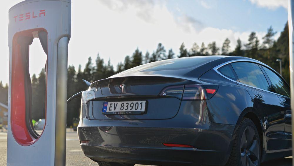 Det ble solgt mye Model 3 i årets tre første måneder.