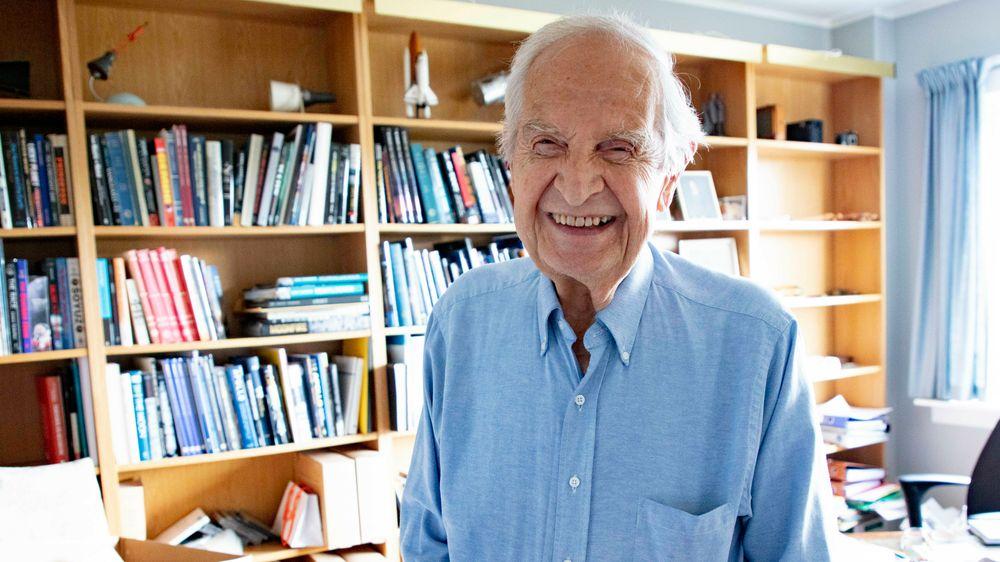 Sivilingeniør Erik Tandberg er død, 87 år gammel.