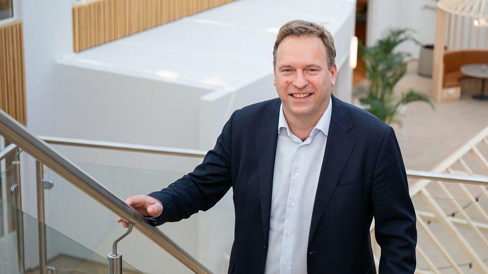 Erik Larsen, Norgessjef i Cognizant