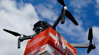 I byer er droneleveranser lite energieffektivt. På bygda er det annerledes – med medvind