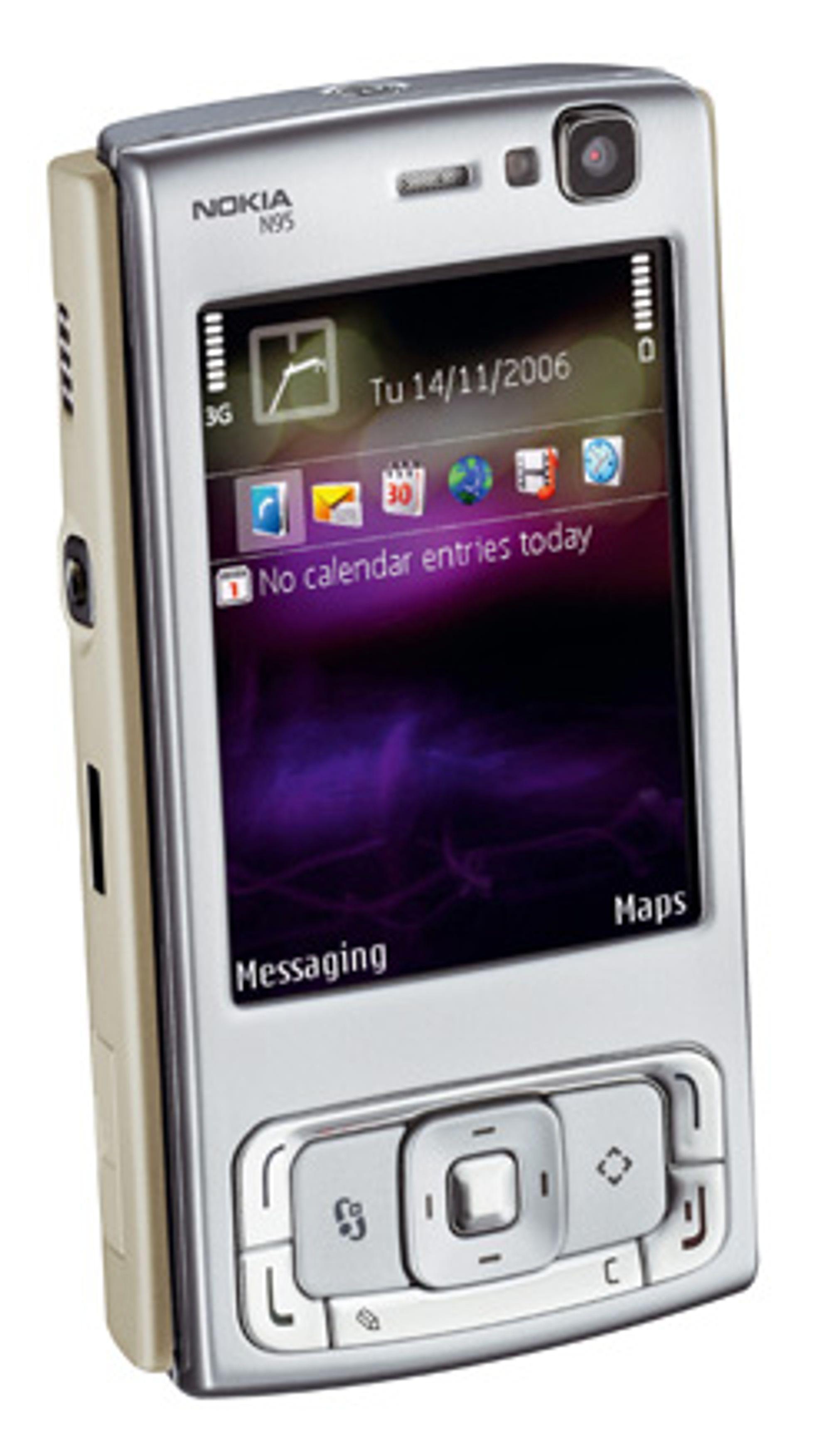 Nokia N95 blir en av de første mobilene i Norge med HSDPA