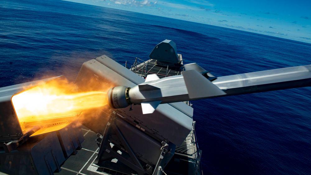 Testskyting av NSM fra amerikansk LCS-fartøy høsten 2019.