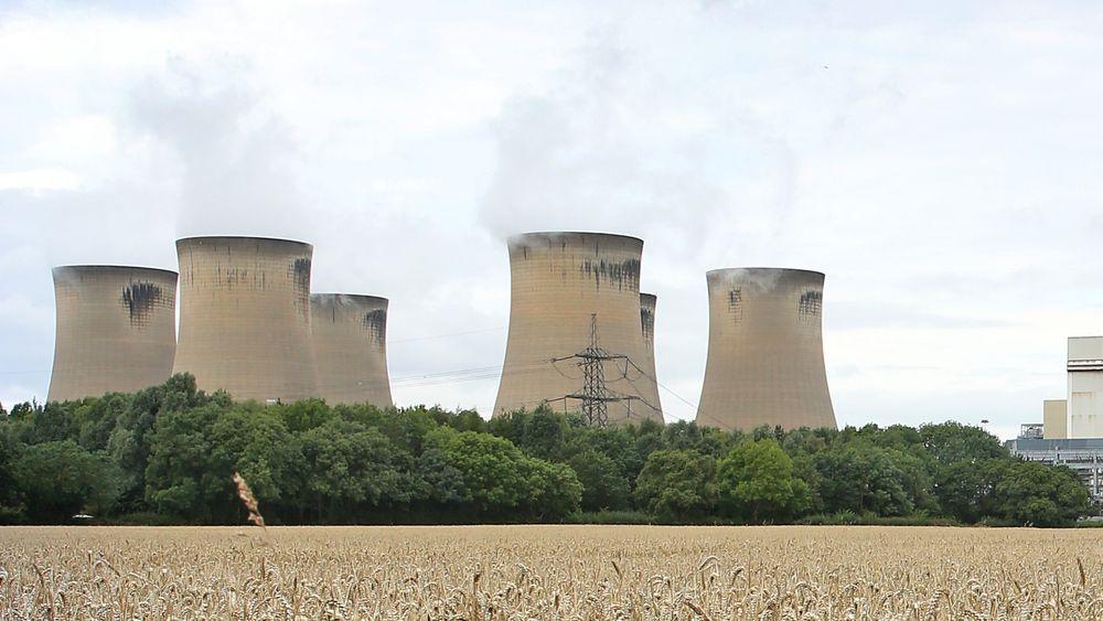 Storbritannia jobber med å fase ut kull, og det er satt ny rekord for lengste kullfrie periode siden 1800-tallet. Drax power station (bildet) er et av de få gjenværende kullkraftverkene i Storbritannia, og også dette vil etter hvert gå over til å brenne gass, i stedet for kull.
