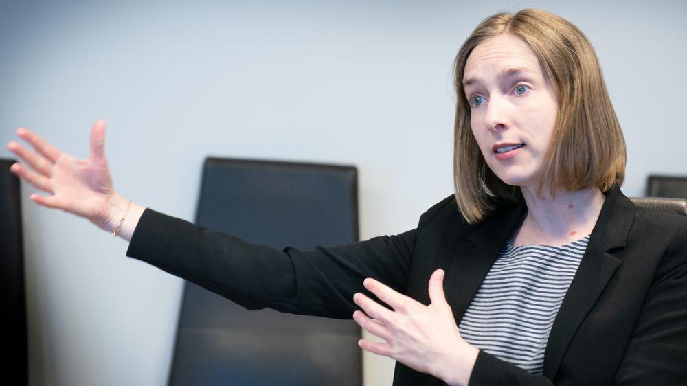 Næringsminister Iselin Nybø (V)