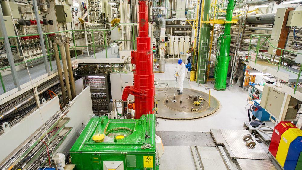Politiet skal nå etterforske alvorlige brudd på test- og sikkerhetsrutiner ved atomreaktoren i Halden. Reaktoren ble stengt for godt i fjor og den eksterne granskingen dreier seg om juks med tester i forbindelse med oppdrag for kunder. Foto: NTB scanpix