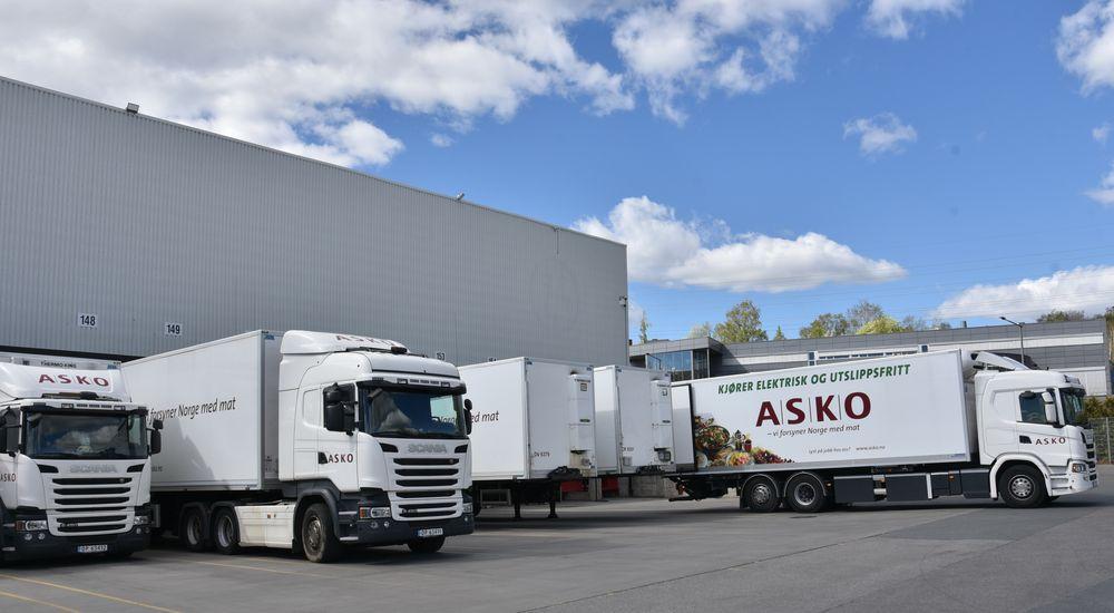 ABB og ASKO samarbeider om elektrifisering av dagligvaregrossistens lastebilflåte.