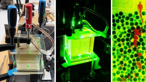 Splitter ny 3D-skanner følger væsker fra hulrom til hulrom