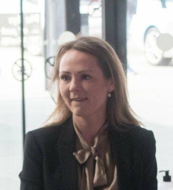 Digitaliseringsminister Linda Hofstad Helleland deltok i går på Telias 5G-åpning i Lillestrøm.
