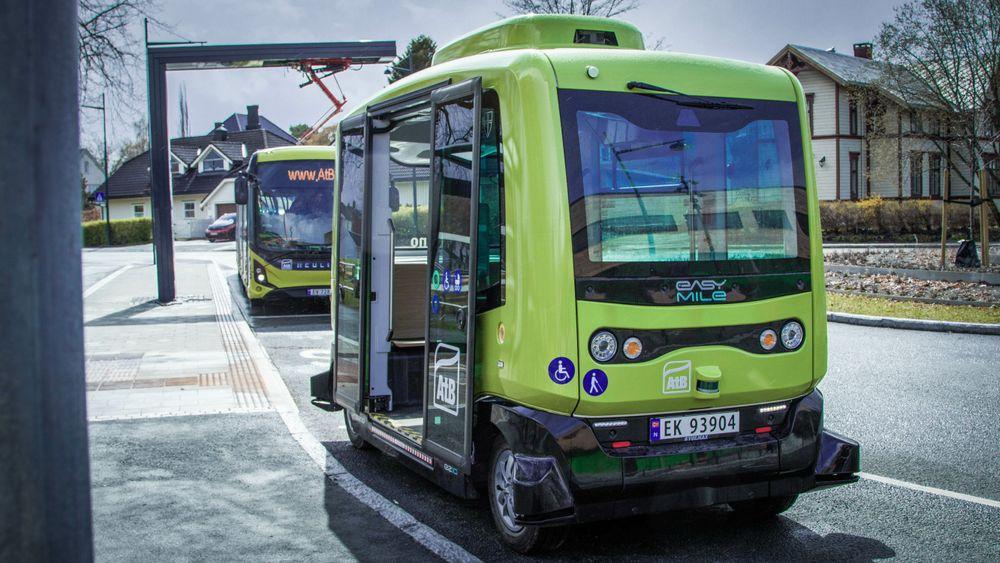 Fra og med 17 august kan trøndere på Øya bestille denne lille bussen helt hjem.