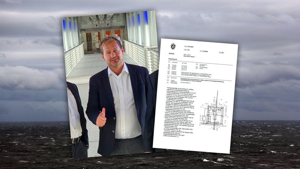 Oppfinneren Torfinn Borsheims selskap har gått til sak mot GE Oil & Gas.