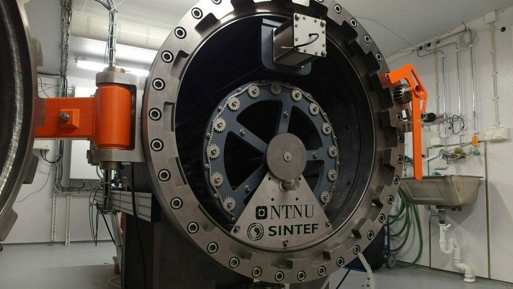 Titan har vist seg helt avgjørende for å bygge en trykktank egnet til å forske på konsekvensene av eventuelle CO2 – lekkasjer fra lagringsreservoarer på norsk sokkel.