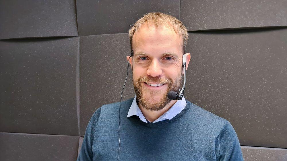 Bilselger: Anders Espelund har bygget en digital auksjon hvor bilforhandlere kan by på bilen til folk.