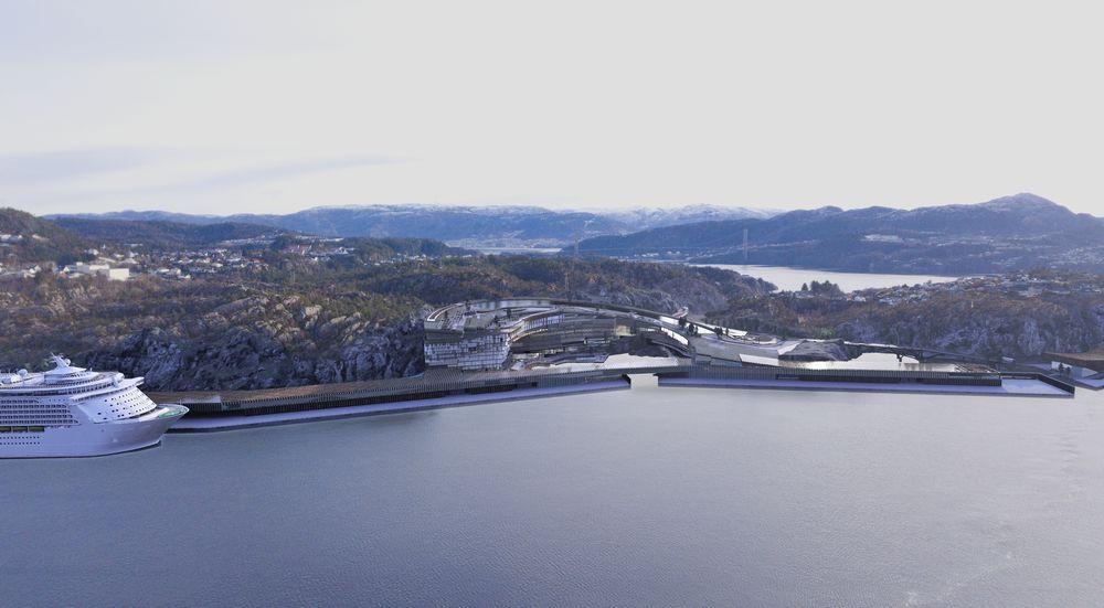 Kildn på Askøy skal ha kapasitet til å ta  mot 20.000 cruiseturister daglig. De største skipene kan ta 5.000-6.000 passasjerer.