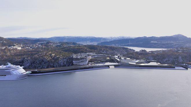 Megaplaner: Bergen kan få utslippsfri havn i 2026