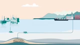 Nordsjø-lageret får begrenset kapasitet fra start: – Det finnes ikke et marked for CO2 i dag
