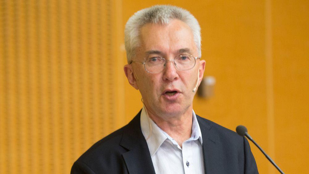 Produktiviteskommisjonens leder økonomiprofessor Jørn Rattsø.
