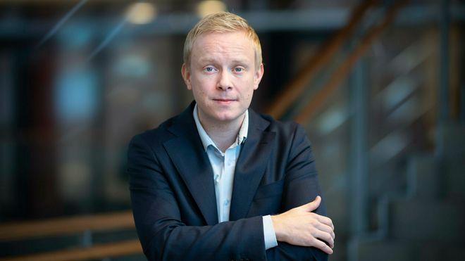 Magnus Line, informasjonssjef i Telenor.