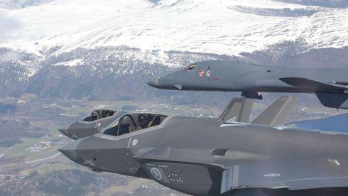 Forsvaret bekrefter: USA skal stasjonere B-1B Lancer på Ørland