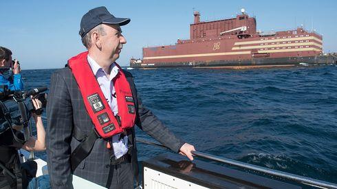 Flytende russisk atomkraftverk satt i drift