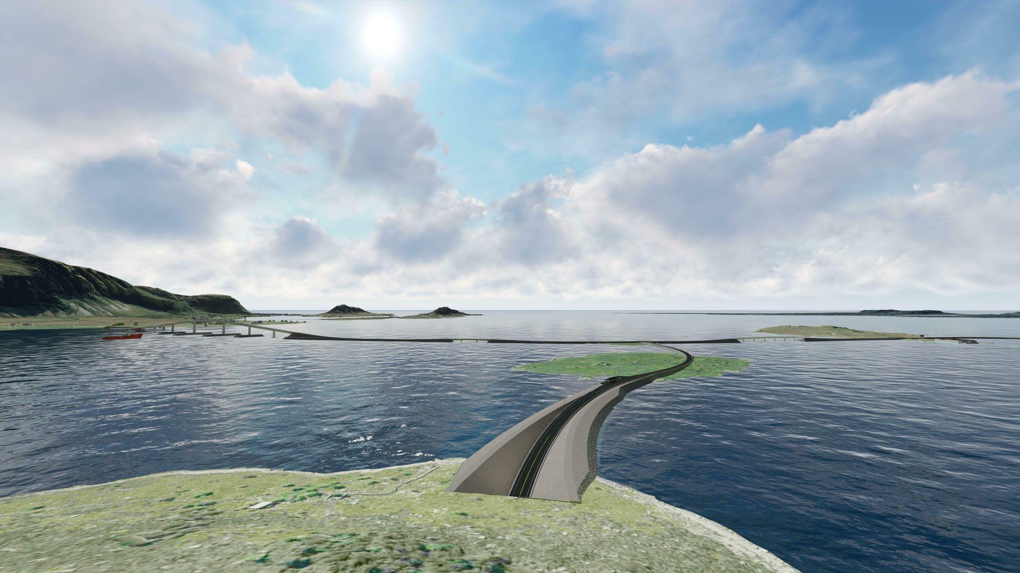 Nordøyvegen får 60,5 millioner i årlige fergeavløsningsmidler