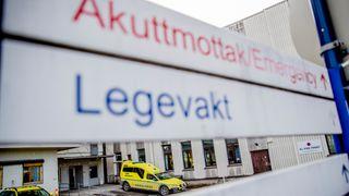 Sykehuset Innlandet, akuttmottak og legevakt til sykehuset Hamar.