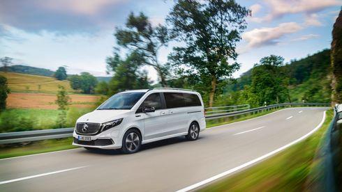 Mercedes-Benz viser frem sin splitter nye elektriske minibuss på årets IAA.