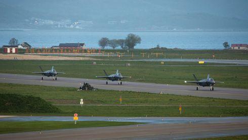 Flere jagerfly til Ørland: Nå har Norge mottatt halve F-35-flåten