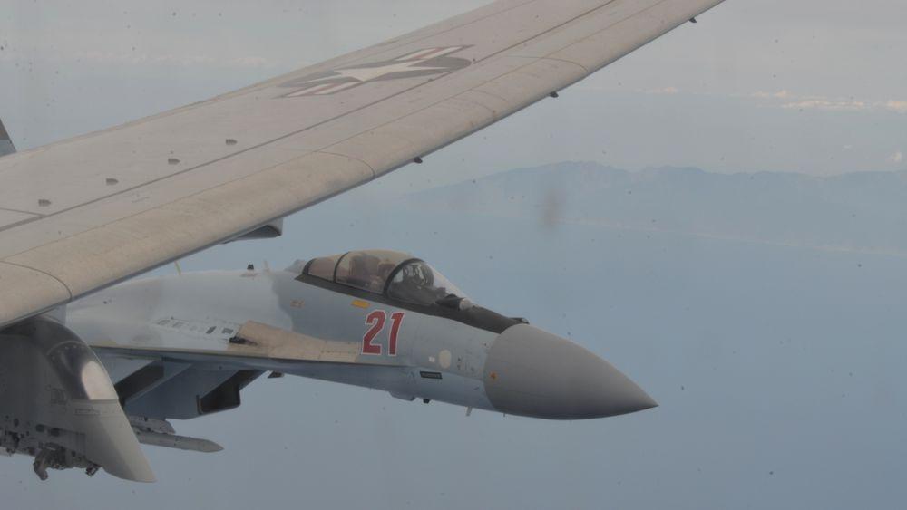Fullstendig uansvarlig, er karakteristikken fra US Navy etter at et av deres maritime patruljefly ble hindret av to Su-35 i 65 minutter i internasjonalt luftrom over Middelhavet tirsdag 26. mai.