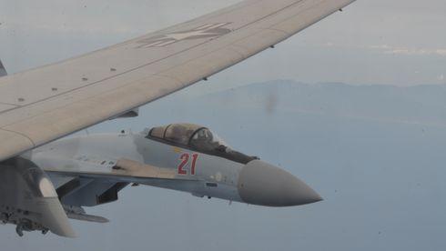Norske F-35 med flere avskjæringer: Det foregår ryddig her, men lengre sør klager USA på livsfarlig oppførsel fra russerne