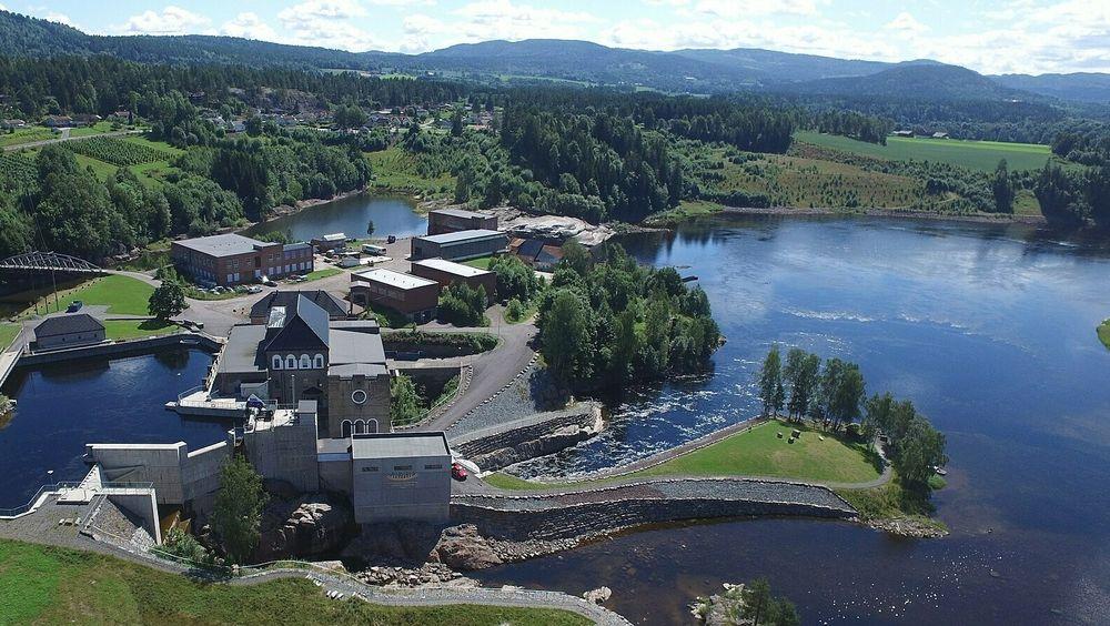 Vittingfoss kraftverk i Viken.
