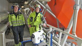 Undervannsdrone gjør inspeksjoner enklere. Sparer Equinor for millioner