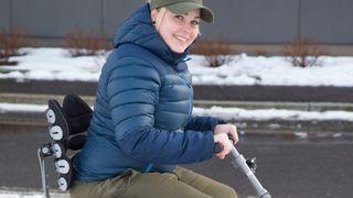 Segway-teknologi kan gi Cecilie (30) et bedre liv.Venter på godkjenning fra Nav