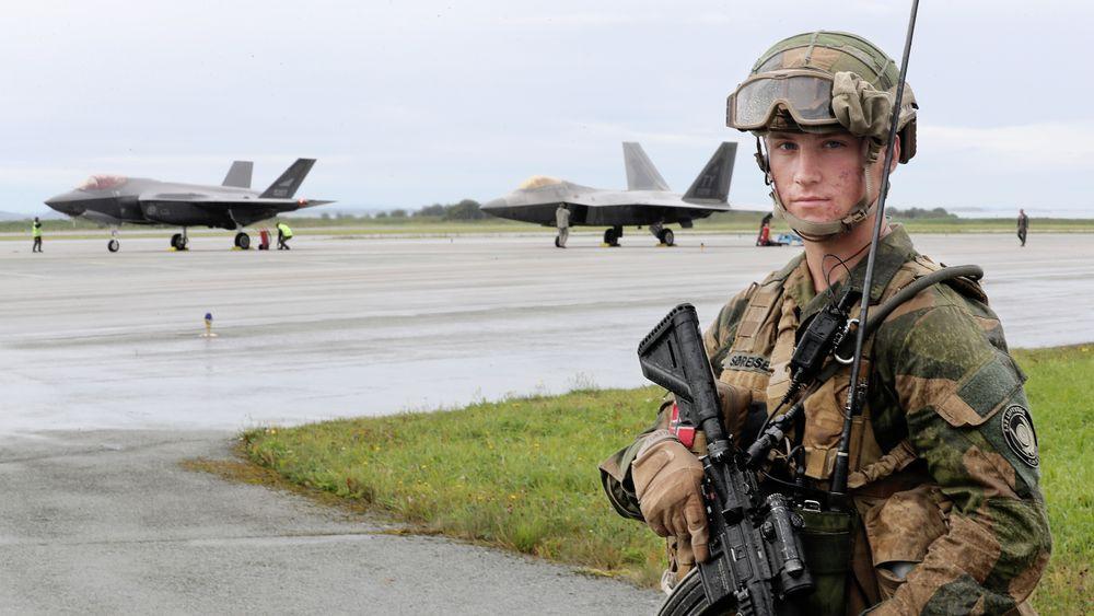 I august 2018 landet amerikanernes superjager F-22A Raptor på norsk jord første gang. Siden har det vært mye såkalt integrasjonstrening mellom norske F-35A og amerikanske partnere.