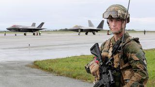 Norske fly har øvd med F-22, B-1, B-2 og B-52: – Det er mer samtrening i vente