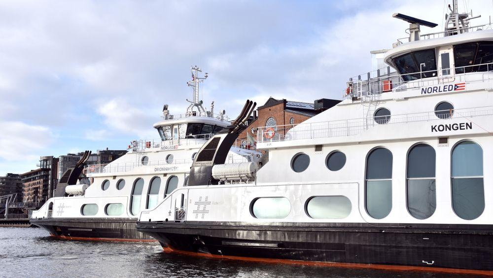 Tempoet i elektrifiseringen av Nesoddbåtene har imponert TU-redaktør Jan Moberg