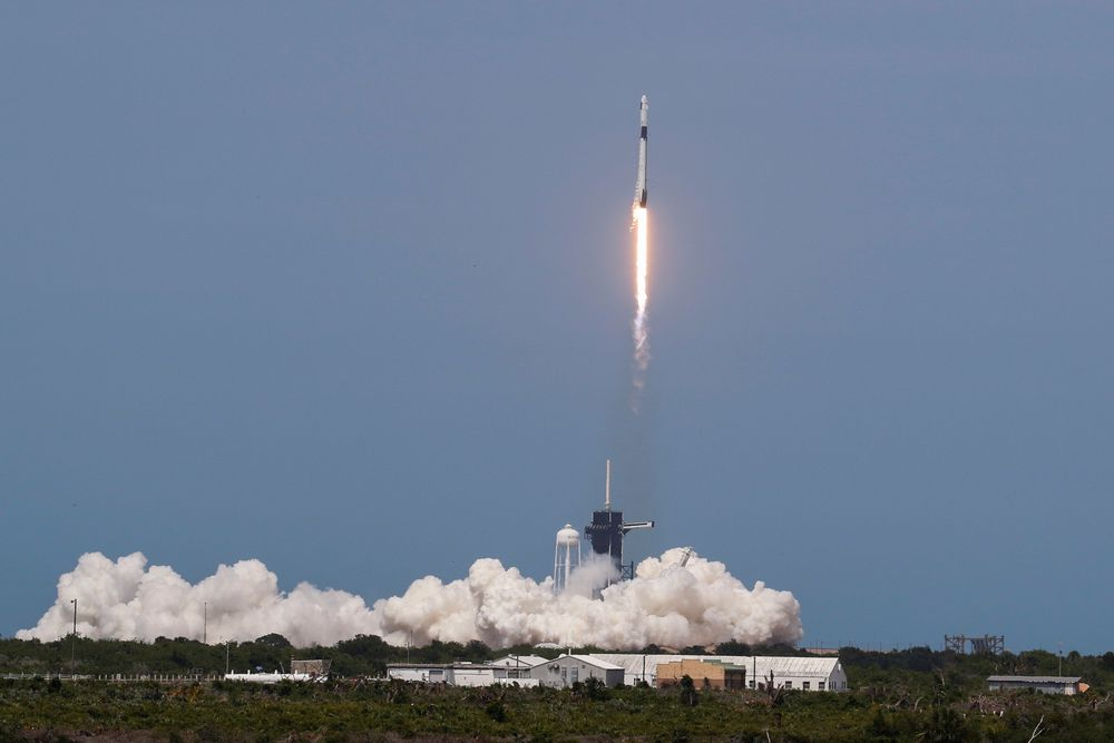 Oppskytningen fra Cape Canaveral, Florid var vellykket.