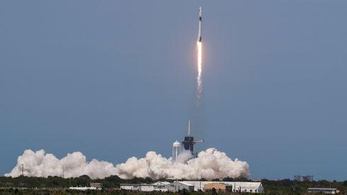 Skrev romfartshistorie: Vellykket oppskyting for SpaceX