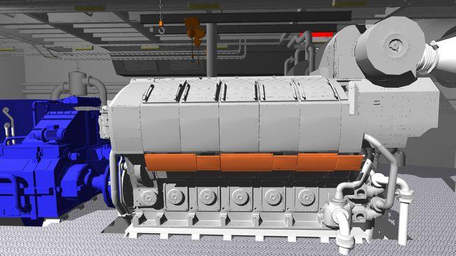 Satser på dieselmotorer som kan bygges om til gass – og andre drivstoff