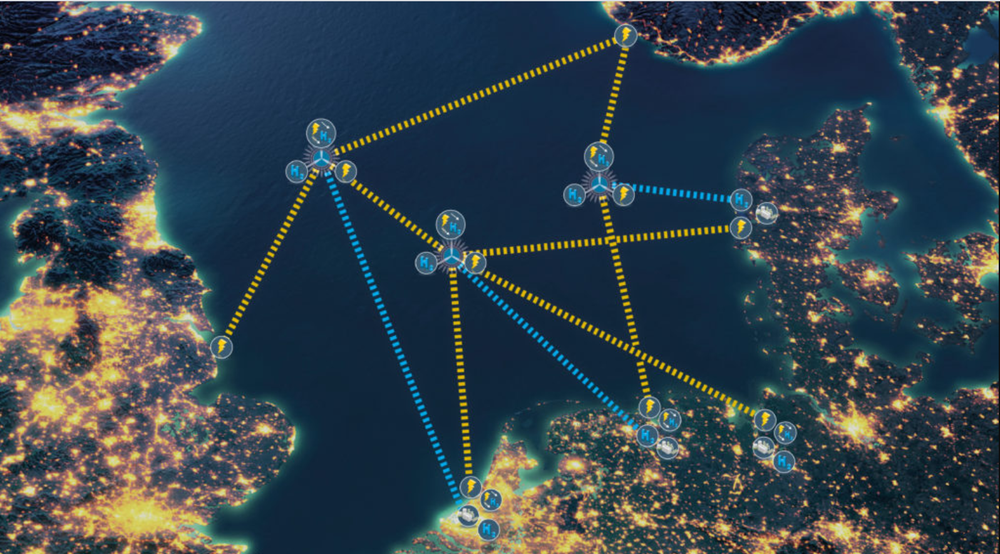 Ideen om et nett med energiøyer i Nordsjøen ble omtalt første gang av TU i 2019.