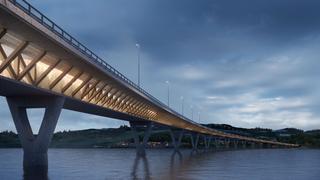 Slik blir den nye Mjøsbrua – skal bygges i tre og betong av belgisk-italiensk gruppe