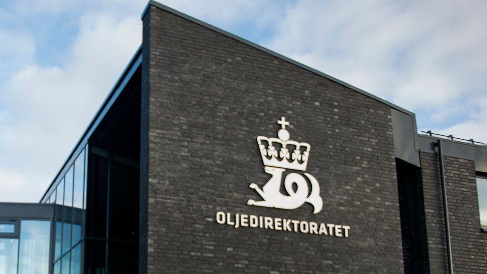 Oljedirektoratet i Stavanger.