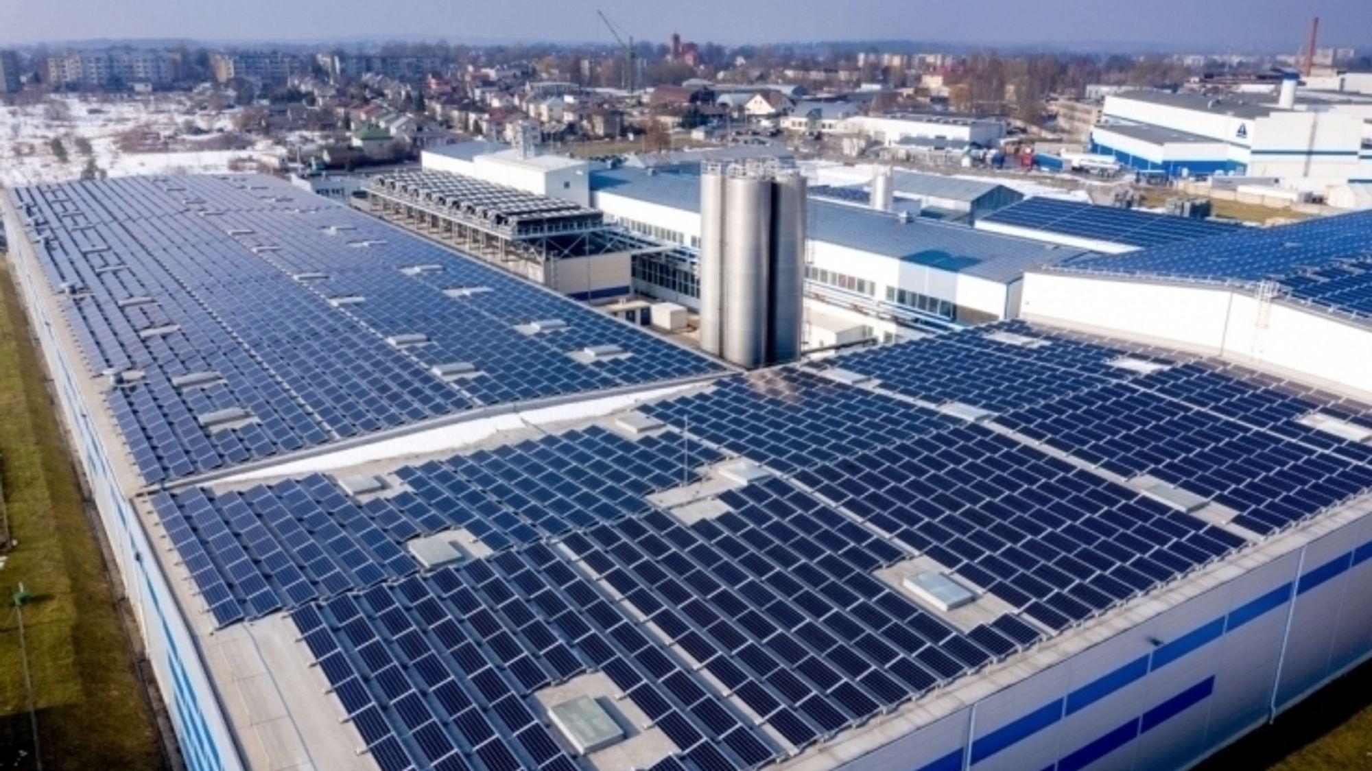 Tyskerne er fortsatt sultne på solceller.