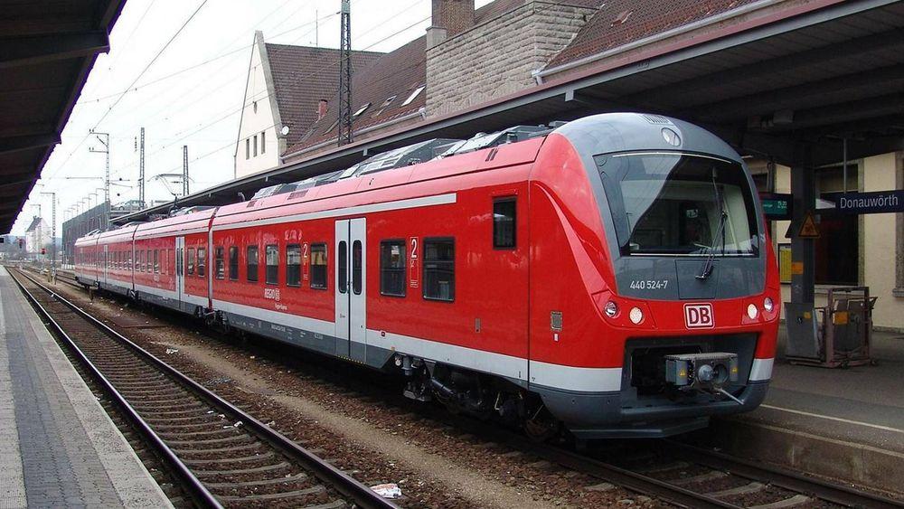 Alstoms Coradia Continental-tog skal brukes i forsøket med autonome tog neste år.