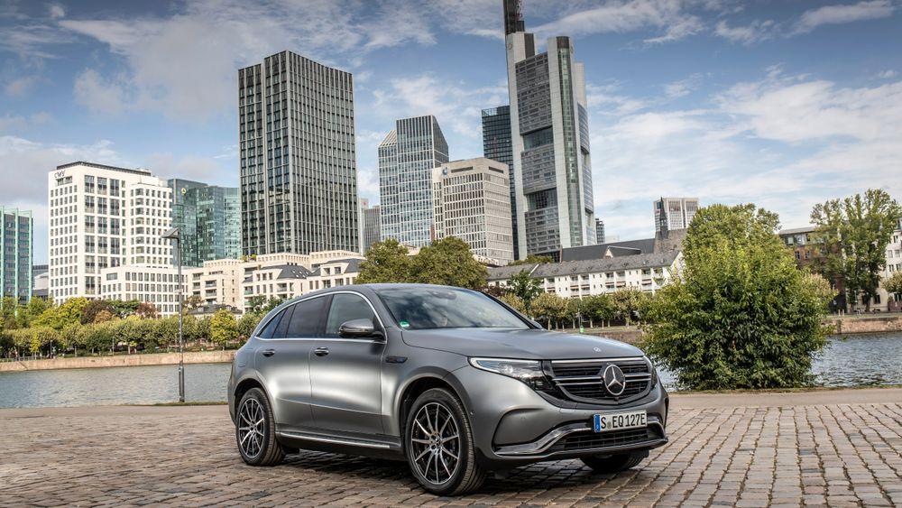 Tyskland og Frankrike har i det siste innført generøse kjøpstilskudd for mange elbiler. Mercedes EQC er imidlertid for dyr til å få den høyeste støtten.
