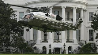 Sikorsky må redesigne presidenthelikopteret: Det ødelegger plena utenfor Det hvite hus