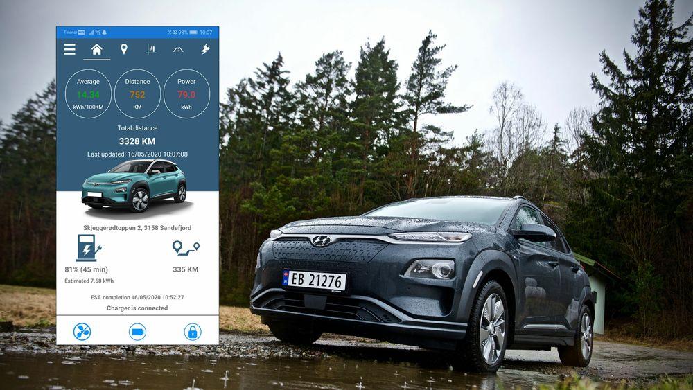 Stian Thoresen var misfornøyd med appen til Hyundai Kona, og utviklet sin egen. Da fikk han bilprodusenten på nakken.