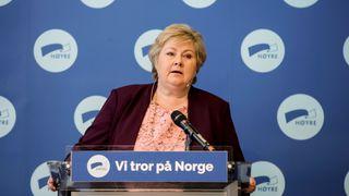 Solberg: – Viktig å stå imot press fra oljelobbyen