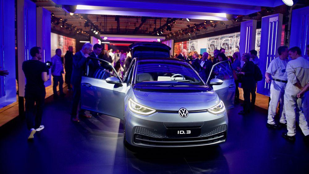 VW ID.3 kommer på veiene i år.