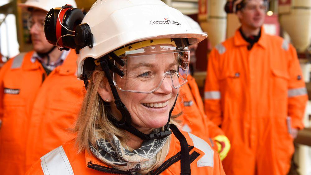 Ingrid Sølvberg er oljedirektør i OD.